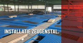 Project nieuwe zeugenstal te Wuustwezel (België) halverwege