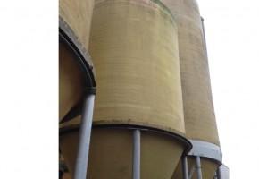 Gebruikte veevoer silo's